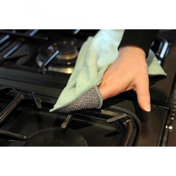Laveta premium din microfibra e-cloth pentru curatenie generala in bucatarie 4