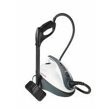 Aparat de Curatat cu Abur Polti Vaporetto Smart 30 R, Emisie Abur 85 g/min, Presiune Abur 3 BAR, 1800 W, Alb/Rosu