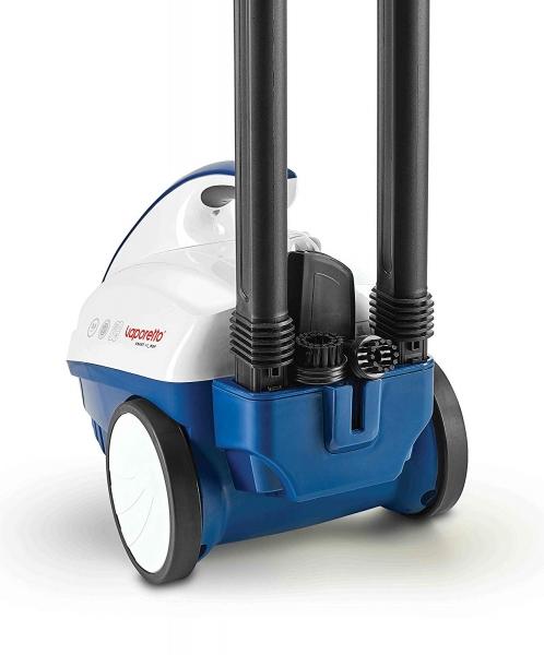 Aparat de Curatat cu Abur Polti Vaporetto Smart 40_Mop,1800W, Emisie Abur  85 g/min, Presiune Abur 3.5 BAR, Alb Albastru 1