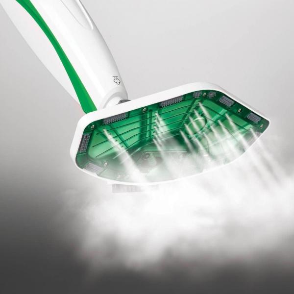 Aparat de Curatat cu Abur Polti Vaporetto SV 400 Hygiene,1500 W, 2.4 Kg, Alb/Verde