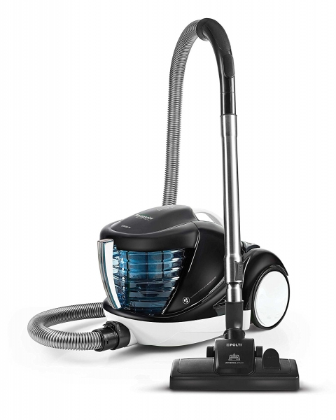 Aspirator cu Filtrare prin Apa Polti Forzaspira Lecologico Aqua Allergy Natural Care, 750 W, Alb/Negru