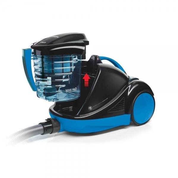 Aspirator cu Filtrare prin Apa Polti Forzaspira Lecologico Aqua Allergy Turbo Care, 850 W, 1L, Negru/Albastru 1
