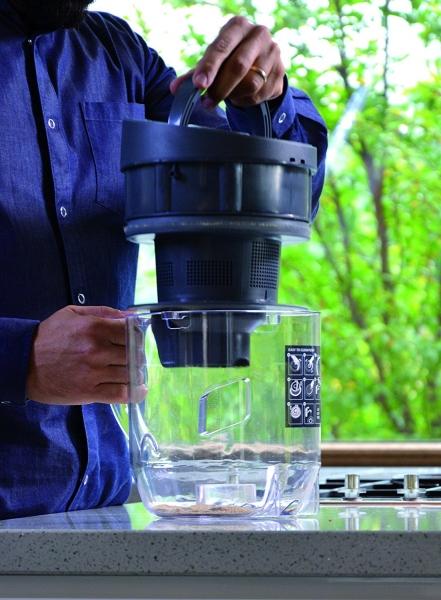 Res_Aspirator Polti Unico MCV 20 Allergy Multifloor, Filtrare Multiciclonica 5 Stadii, Functie Igienizare Abur si Uscare, 2200 W, Filtru Hepa, Argintiu