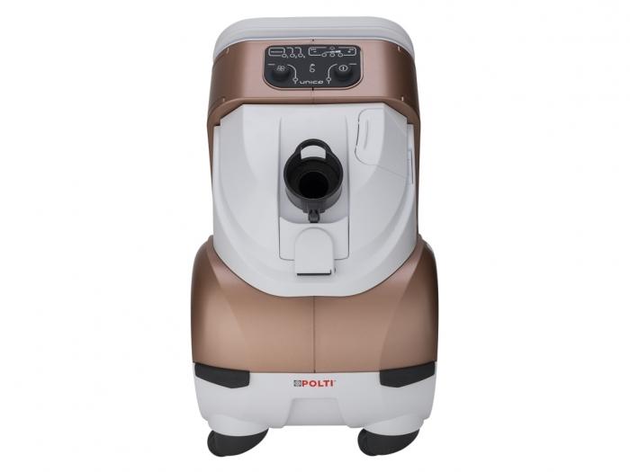 Aspirator Polti Unico MCV 85 Total Clean & Turbo, Filtrare Multiciclonica 5 Stadii, Functie Igienizare Abur si Uscare , 2200 W, Filtru Hepa, Auriu 8