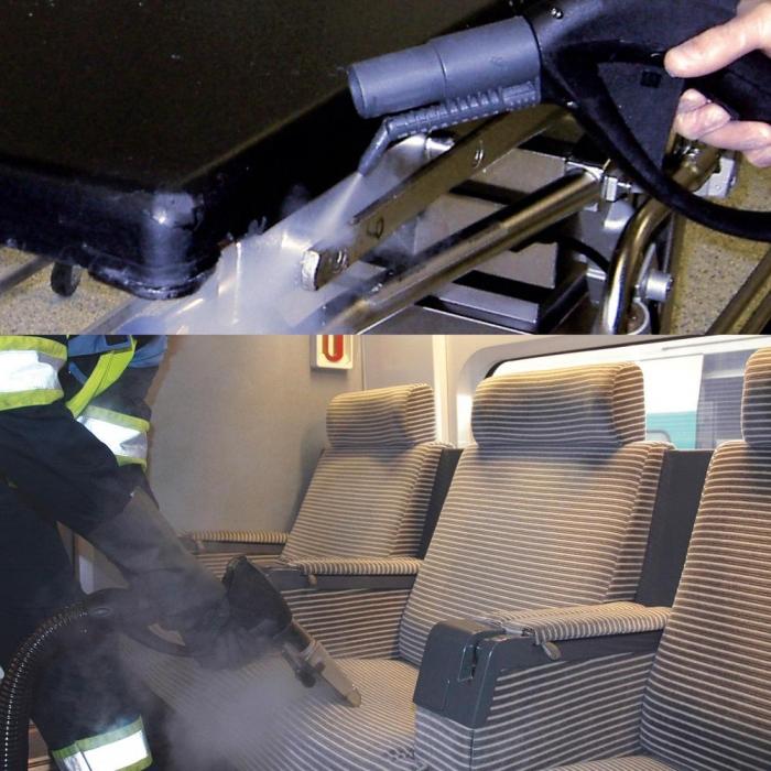 aspirator profesional cu spalare cu abur