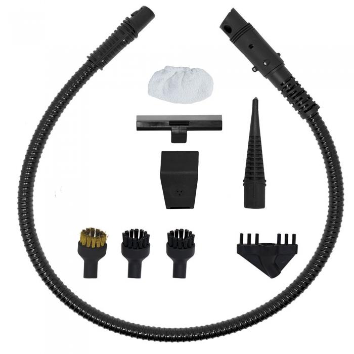 Aspirator Vertical cu Abur, Multifunctional, Polti Vaporetto 3 Clean, 1700 W, 0.5 l, Cyclonic, Alb/Gri 4