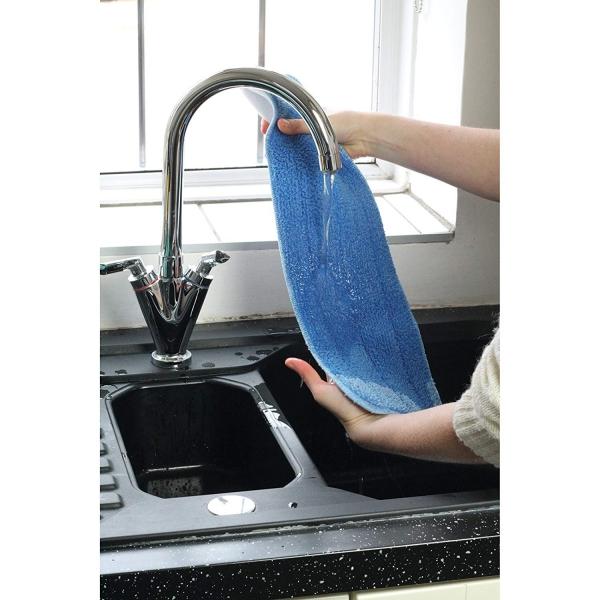 Laveta premium din microfibra e-cloth pentru spalat pardoseli dure