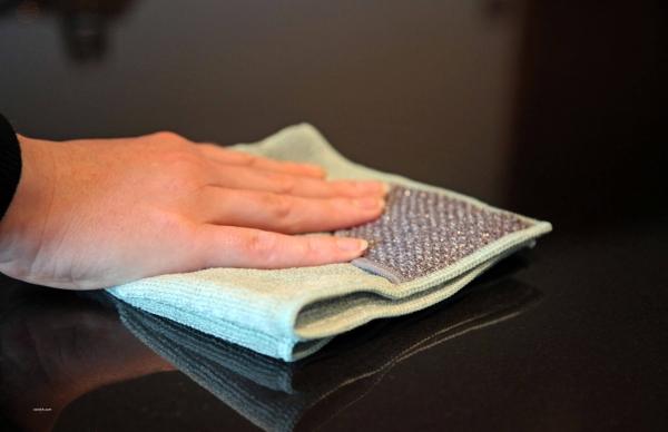 Laveta Premium E-Cloth din Microfibra pentru Curatarea Bucatariei, Compartiment Abraziv, 32 x 32 cm 4