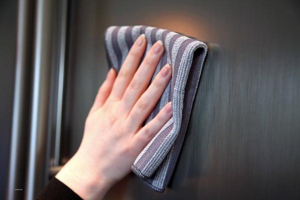 Set Doua Lavete Premium E-Cloth din Microfibra pentru Curatarea si Lustruirea Obiectelor din Inox, 32  x 32  cm 3