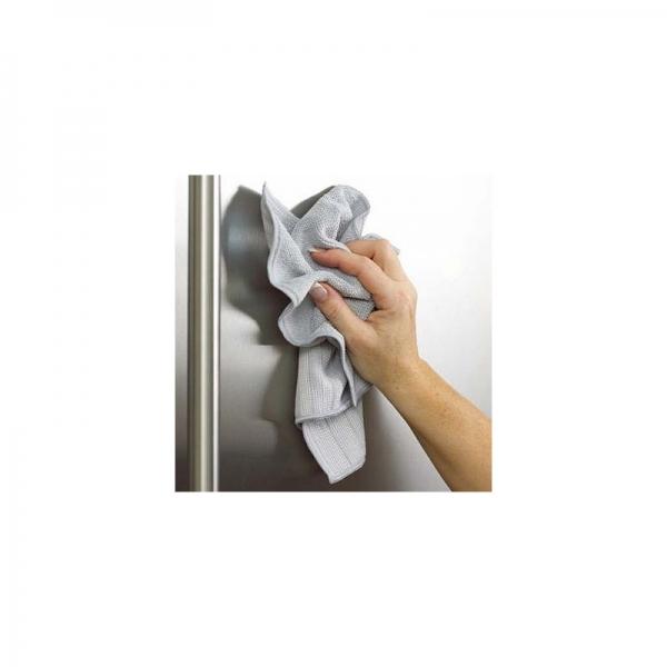 Set Doua Lavete Premium E-Cloth din Microfibra pentru Curatarea si Lustruirea Obiectelor din Inox, 32  x 32  cm 6