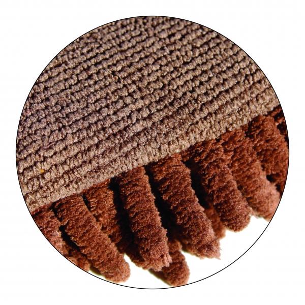 Manusa Premium E-Cloth din Microfibra pentru Curatare si Spalare Caini si Pisici, 23.5 x 17 cm
