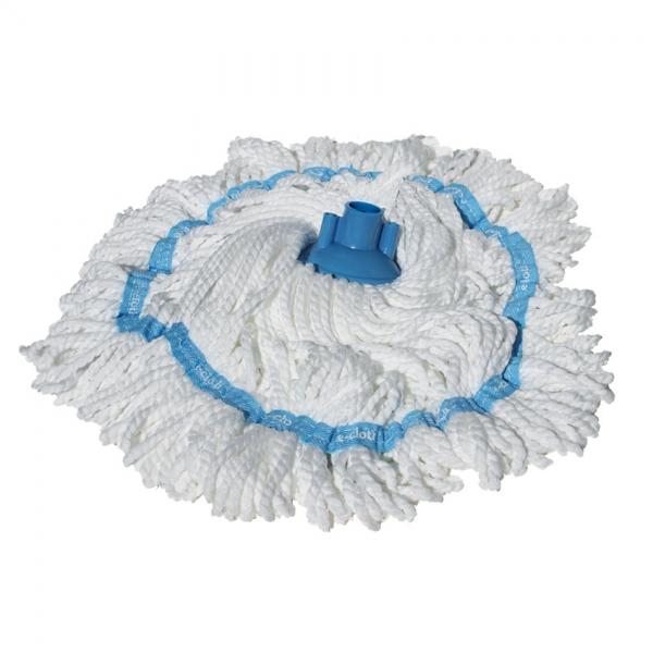 Mop Clasic Premium E - Cloth cu Maner Telescopic pentru Curatat Parchet, Gresie, Lemn, Piatra