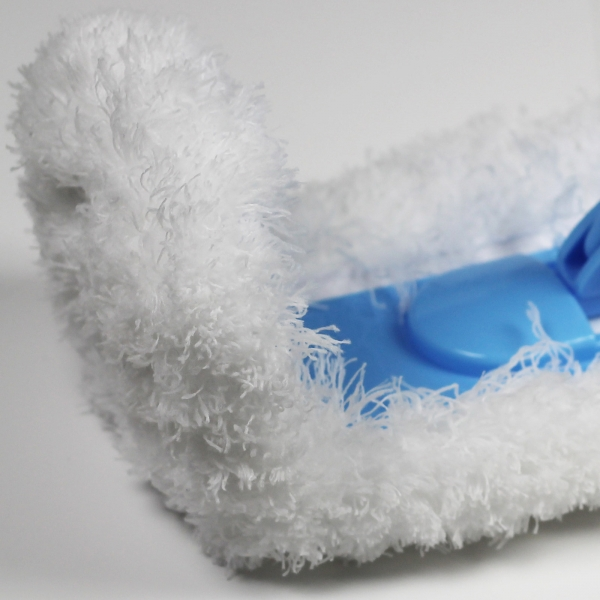 Mop de Praf Premium E-Cloth Flexibil pentru Pardoseli si Pereti, Maner Telescopic Max. 1.5 m