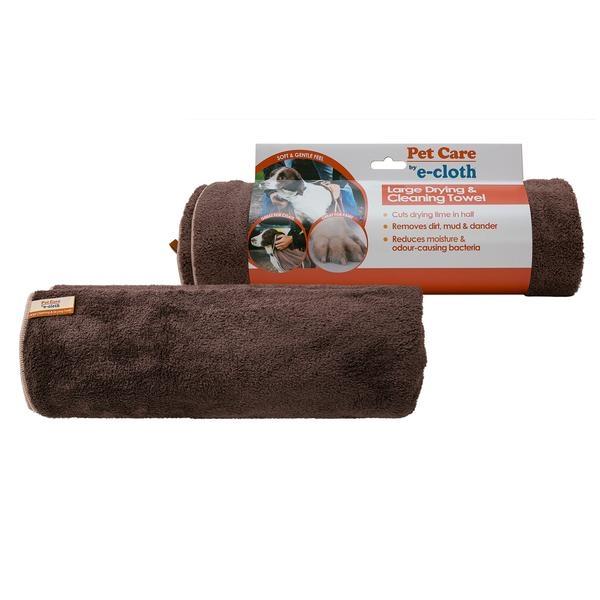 Prosop Mare Premium E-Cloth din Microfibra pentru Curatare si Uscare Caini si Pisici 0
