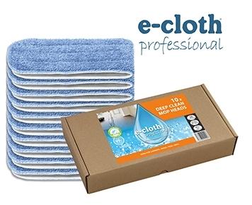 Set 10 x Laveta Premium E-Cloth din Microfibra pentru Mop, 45 x 13.5 cm, Hotel, Restaurant, Pub