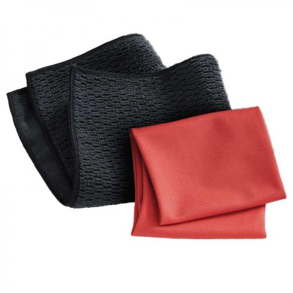 Set Doua Lavete Premium E-Cloth din Microfibra pentru Curatarea Suprafetelor si Blaturilor din Granit, 32 x 32 cm