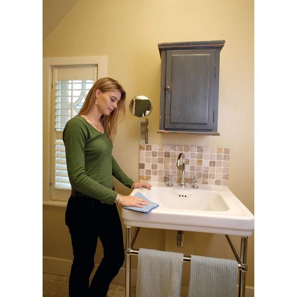 Set doua lavete premium din microfibra e-cloth pentru baie 8