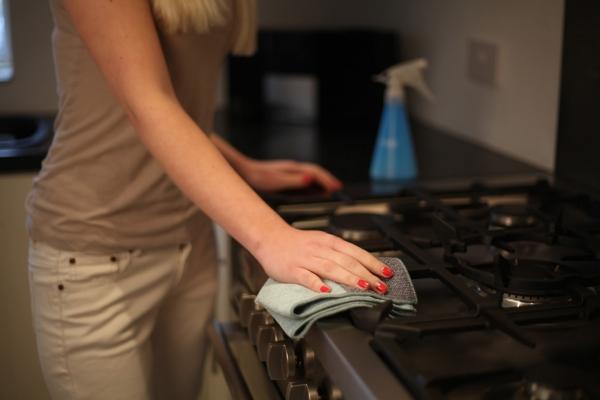Laveta premium din microfibra e-cloth pentru curatenie generala in bucatarie